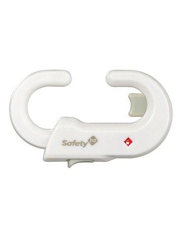 Zabezpieczenie drzwi szafki (gałki) białe - Safety 1st