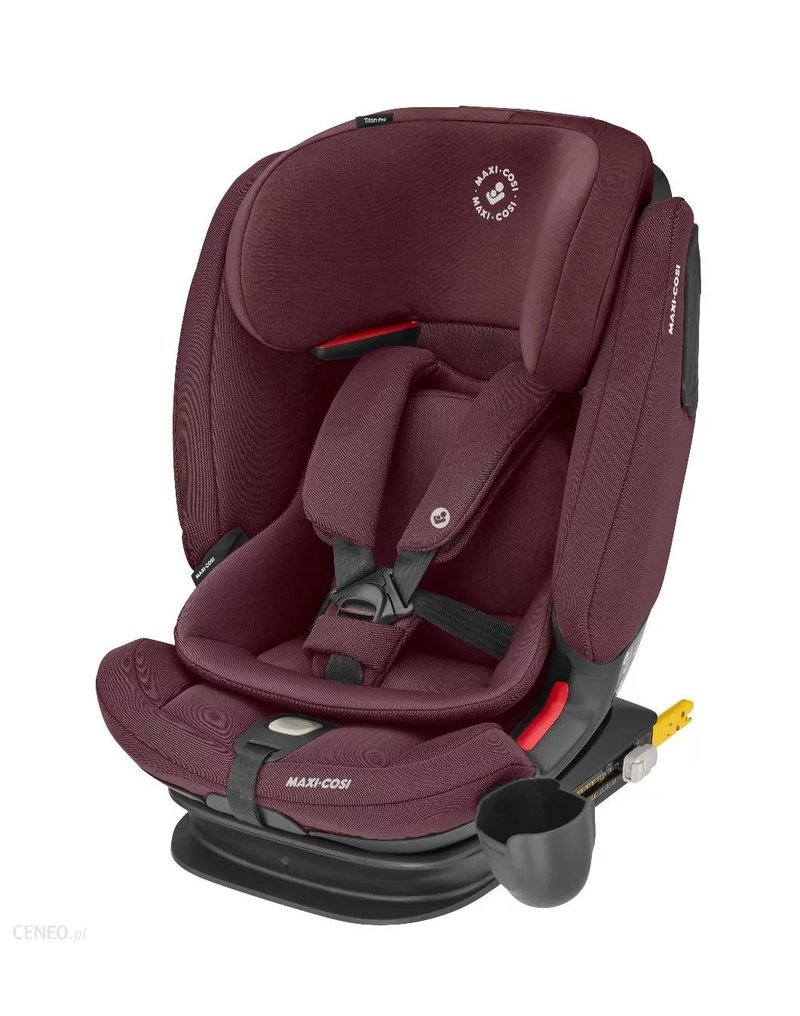 Dorel Polska - TitanPRO Authentic Red fotelik samochodowy - Maxi-Cosi