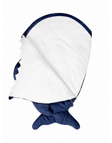 Baby Bites Śpiworek dziecięcy light Constellations (1-18 miesięcy) Navy Blue