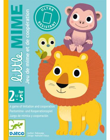 Djeco - Gra karciana dla maluchów Little Mime DJ05063