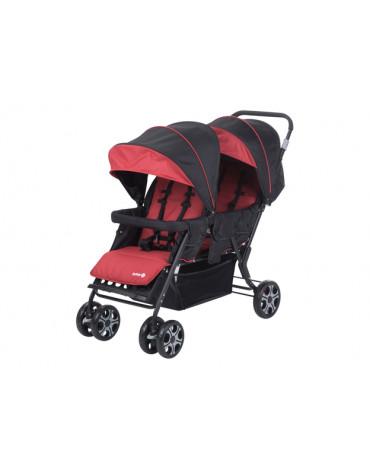 Safety 1st Teamy (wózek spacerowy dla dwójki dzieci) Ribbon Red Chic