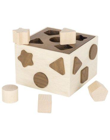 Goki® - Sorter z klockami - naturalne kolory drewna