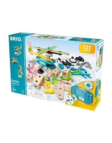 BRIO Builder Zestaw z Silniczkiem 120 el.