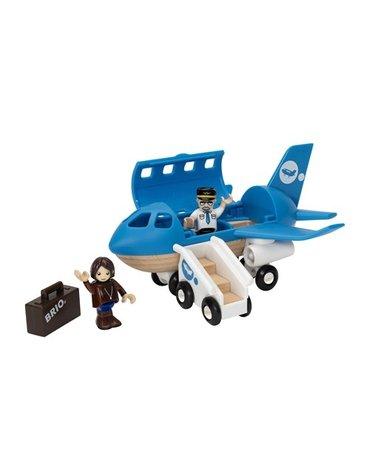BRIO World Drewniany Samolot Pasażerski