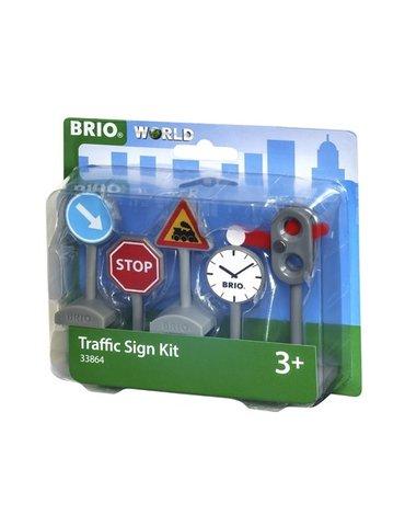 BRIO World Zestaw Znaków Drogowych