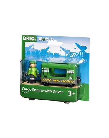 BRIO World Lokomotywa z Maszynistą