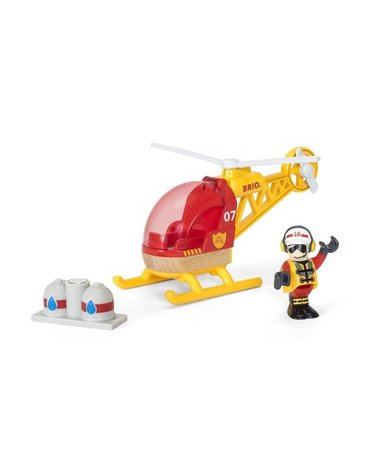 BRIO World Helikopter Straży Pożarnej
