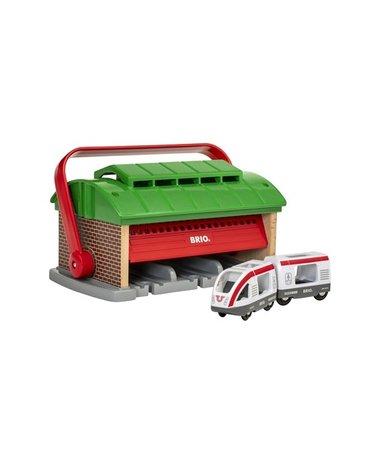 BRIO World Garaż dla Pociągów z Rączką