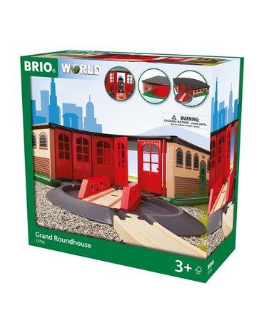 BRIO World Wielka Zajezdnia Parowozownia