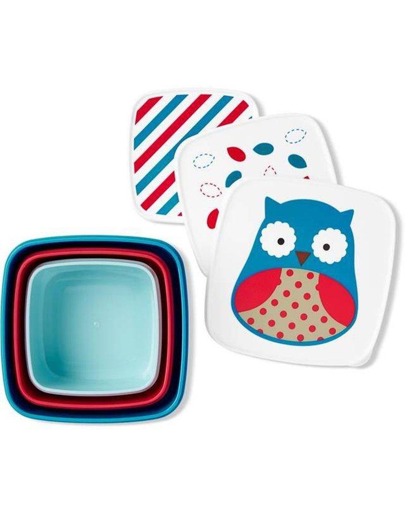 producent niezdefiniowany - Skip Hop - Zestaw pudełek Zoo Sowa