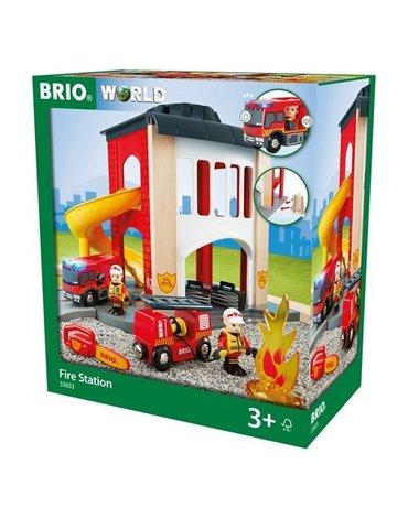 BRIO World Duża Remiza Strażacka