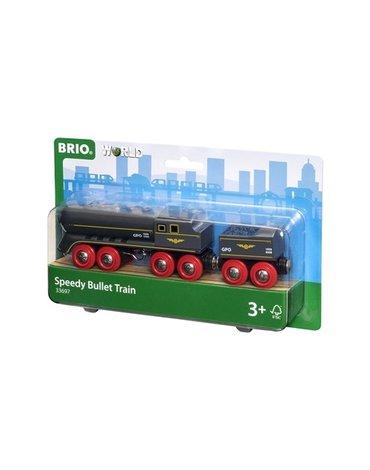 BRIO World Lokomotywa Parowa z Węglarką