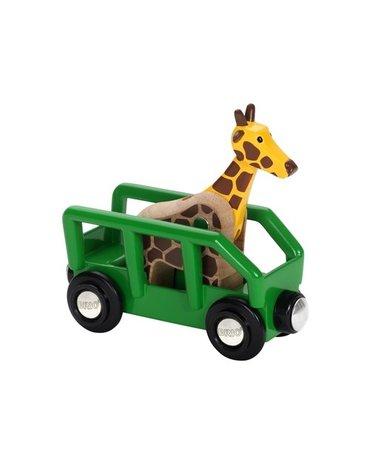BRIO World Wagon z Żyrafą Safari