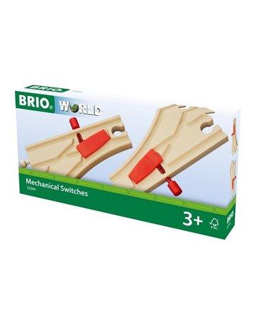 BRIO World Kolejowe Zwrotnice Mechaniczne