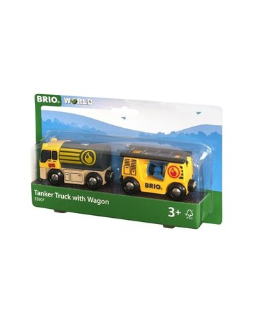 BRIO World Cysterna z Wagonem