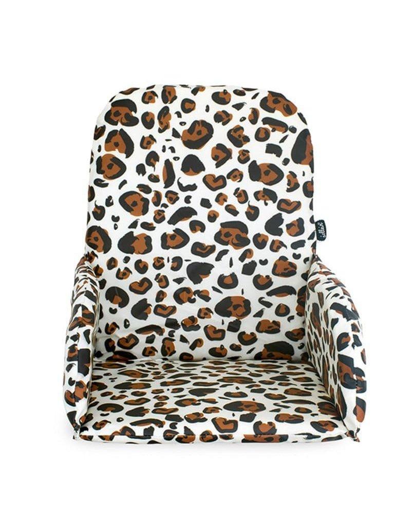 Jollein - Baby & Kids - Jollein - Poduszka stabilizująca do krzesełek do karmienia Leopard Natural