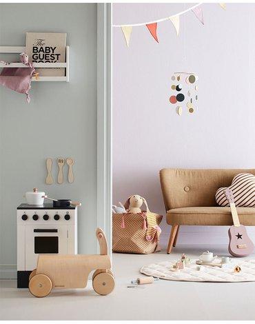 Kids Concept Sofa Dziecięca Yellow Beige