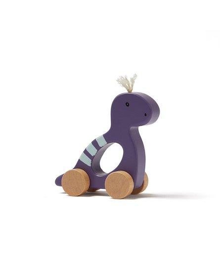 Kids Concept NEO Zabawka Na Kółkach Dino Purple