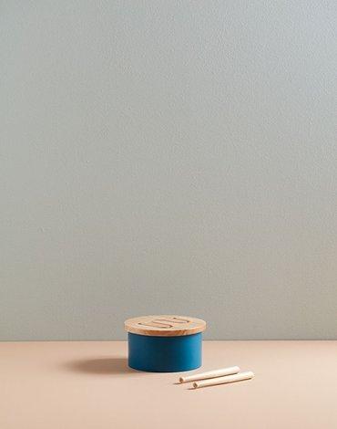 Kids Concept Bębenek Dla Dziecka Mini Blue