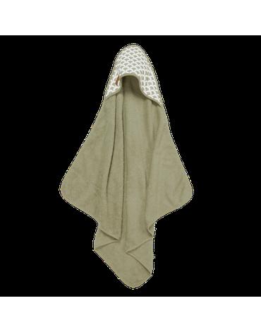Little Dutch Bawełniany ręcznik Sunrise Olive TE50620711