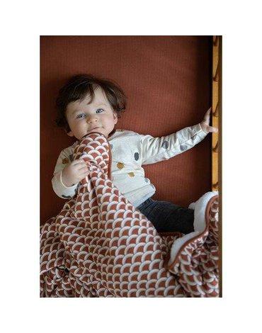 Little Dutch Śpiworek do spania z odpinanymi rękawkami 90 cm Sunrise Rust TE11720761