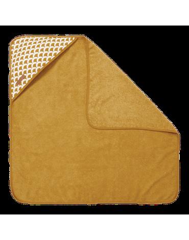 Little Dutch Bawełniany ręcznik Sunrise Ochre TE50620780