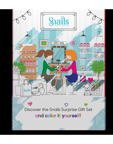 Kalendarz adwentowy Snails