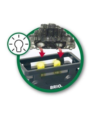 BRIO World Świecący Wagon ze Złotem