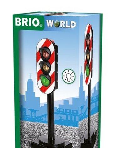 BRIO World Sygnalizacja Świetlna Na Baterie