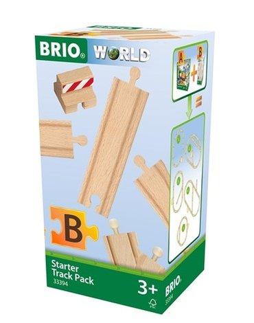 BRIO World Zestaw Startowy Torów