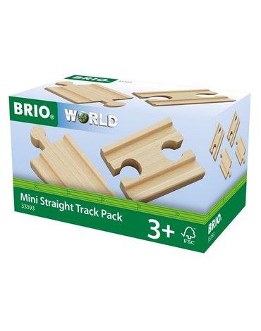 BRIO World Zestaw Torów Prostych Krótkie