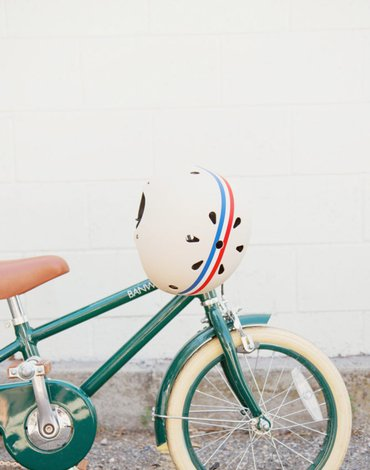 Banwood dziecięcy kask rowerowy stripes