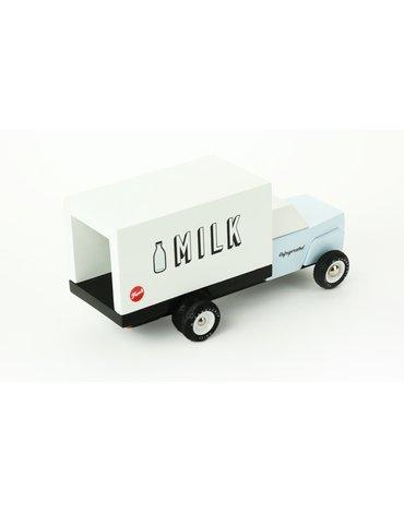 Candylab Samochód Drewniany Milk Truck