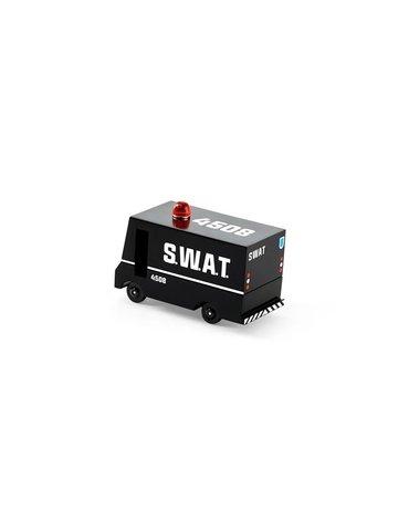 Candylab Drewniany Samochód SWAT Van