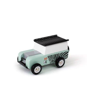 Candylab Drewniany Samochód Drifter Zebra