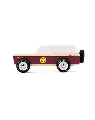 Candylab Drewniany Samochód Lone Sheriff