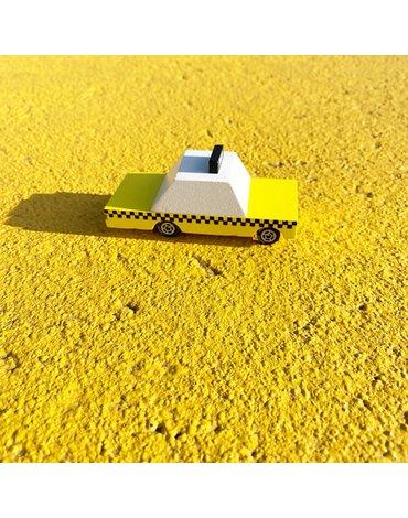 Candylab Drewniany Samochód Taxi Cab