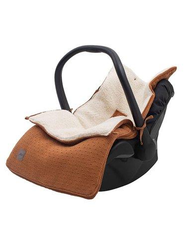 Jollein - Baby & Kids - Jollein - Śpiworek oddychający do wózka i fotelika Bliss Knit CARAMEL