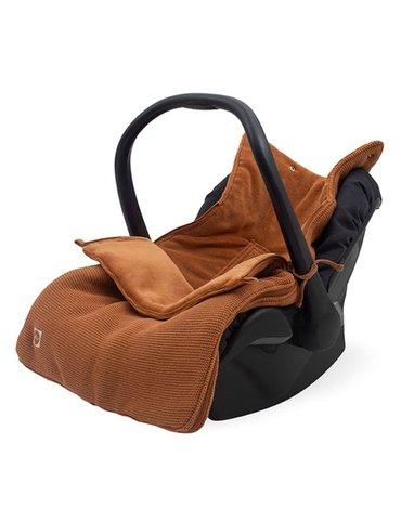 Jollein - Baby & Kids - Jollein - Śpiworek oddychający do wózka i fotelika Basic Knit CARAMEL