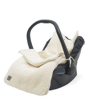 Jollein - Baby & Kids - Jollein - śpiworek do wózka i fotelika Teddy CREAM WHITE