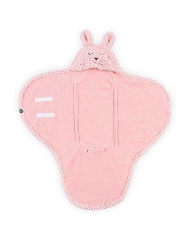 Jollein - Baby & Kids - Jollein - Śpiworek otulacz do fotelika i wózka Bunny PINK