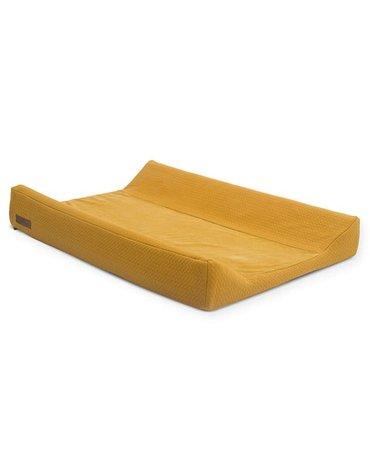 Jollein - Baby & Kids - Jollein - Pokrowiec na przewijak Brick Velvet 50 x 70 cm Mustard