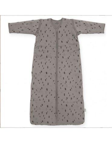 Jollein - Baby & Kids - Jollein - Śpiworek niemowlęcy całoroczny 4 pory roku z odpinanymi rękawami Spot STORM GREY110 cm