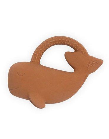Jollein - Baby & Kids - Jollein - Gryzak z naturalnego kauczuku hevea Wieloryb