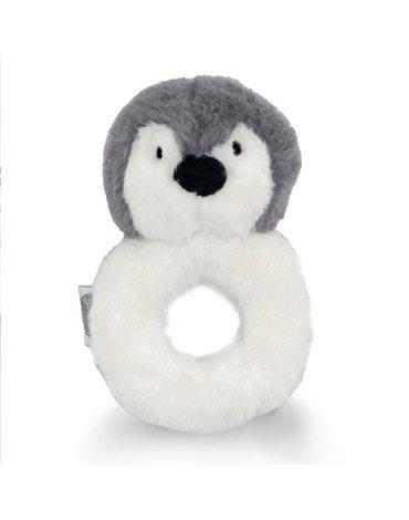 Jollein - Baby & Kids - Jollein - Grzechotka miękka Pingwin STORM GREY