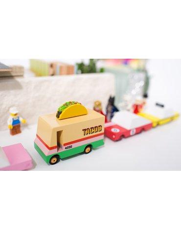 Candylab Drewniany Samochód Taco Van