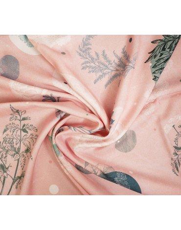 LullaLove, Otulacz bambusowy Rose Garden 100x100cm