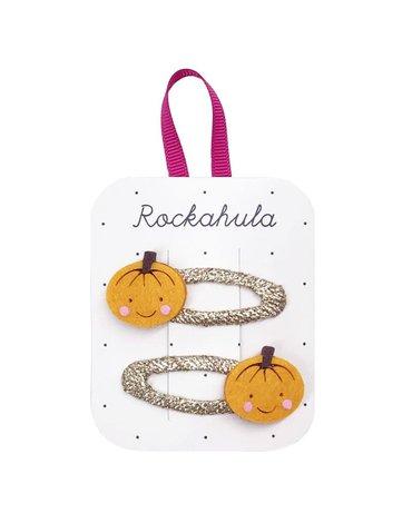 Rockahula Kids - spinki do włosów Little Punpkin Halloween