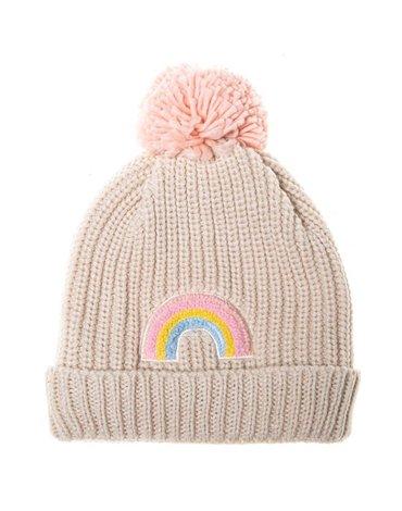 Rockahula Kids - czapka zimowa Dreamy Rainbow Knit Bobble 7 - 10 lat
