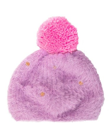 Rockahula Kids - czapka zimowa Fluffy Spot 7 - 10 lat